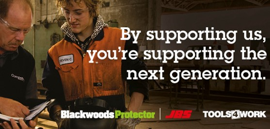 Blackwood Protector promotes trade careers in NZ