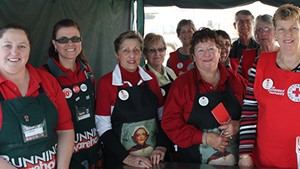 Bunnings supports the Red Cross Centenary