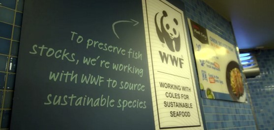 Coles committed to sustainable seafood