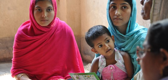 Target supports the Safe Motherhood Project with CARE in Bangladesh